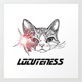 LoCUTEness Art Print