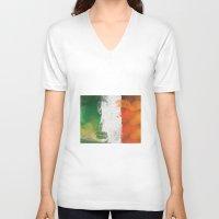 ruben ireland V-neck T-shirts featuring Ireland by Fresh & Poppy