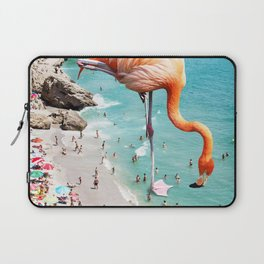 Flamingos on the Beach #society6 #decor #buyart Laptop Sleeve