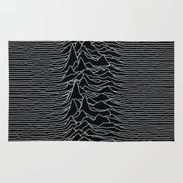 Unknown Radio Waves - Unknown Pleasures Rug