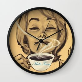 Male Tears Wall Clock