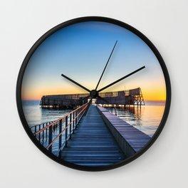 Kastrup Sea Bath, Copenhagen Wall Clock