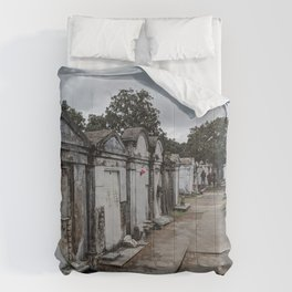 A Cemetery in New Orleans Comforters