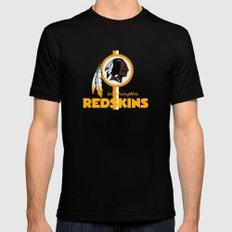 Redskins BEST logo  Mens Fitted Tee 2X-LARGE Black