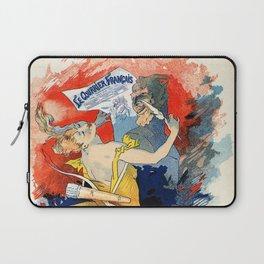 Le courrier français 1891 Laptop Sleeve
