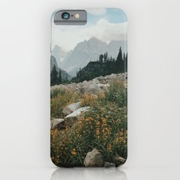 High Country Wildflowers iPhone Case