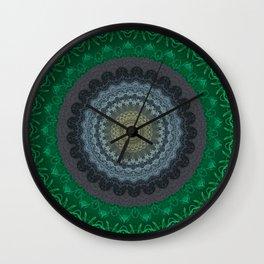 FineLine Mandala 14 Wall Clock