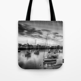 Monochrome Sunset Tote Bag