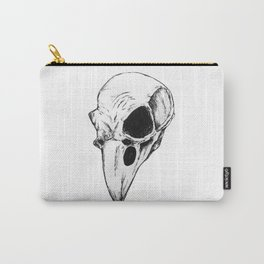 Raven skull Carry-All Pouch