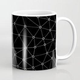 African Triangle Black Coffee Mug