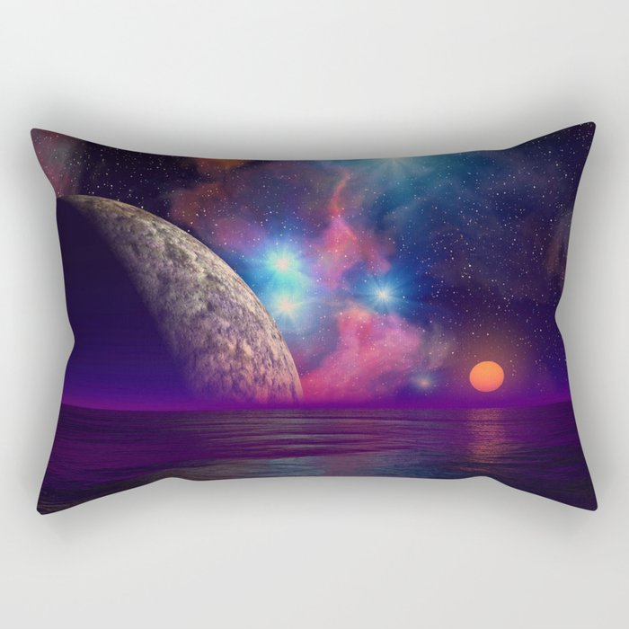 Stars and planets Rectangular Pillow