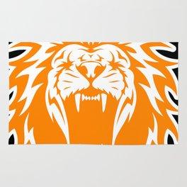 Wild jungle Animal Lion Roar Rug