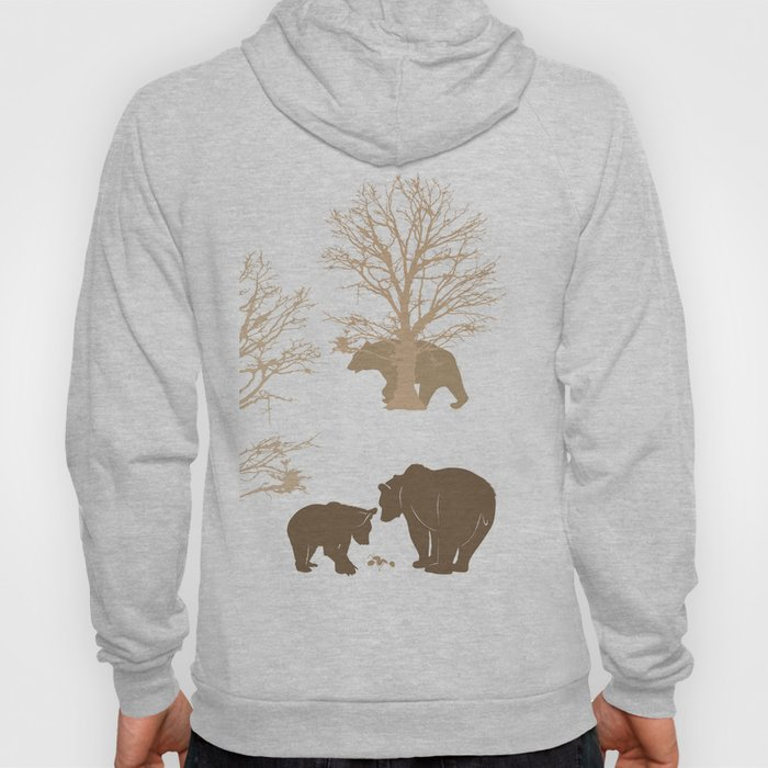 Morning Bears In The Woods No. 4 Hoody