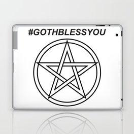 #GOTHBLESSYOU INVERSE Laptop & iPad Skin