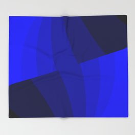 Just Blue #decor #society6 Throw Blanket