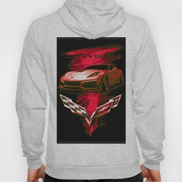 The Fire Speed - USA Supercar Hoody