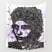 dylan Wall Tapestries featuring Bob Dylan by Travis Poston