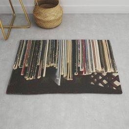 Antique Records Rug