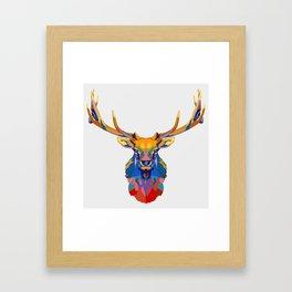 Wild Elk Framed Art Print