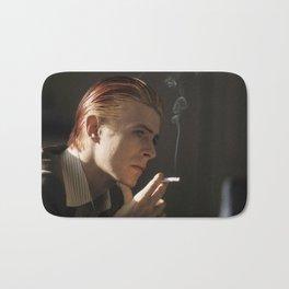 Smokin' Bowie Bath Mat