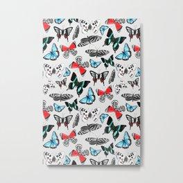 Float Like a Butterfly Metal Print