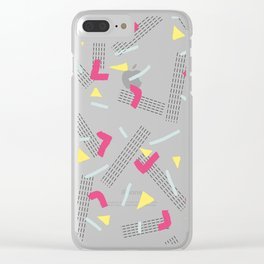 Funny Scribbles #society6 #decor #buyart Clear iPhone Case