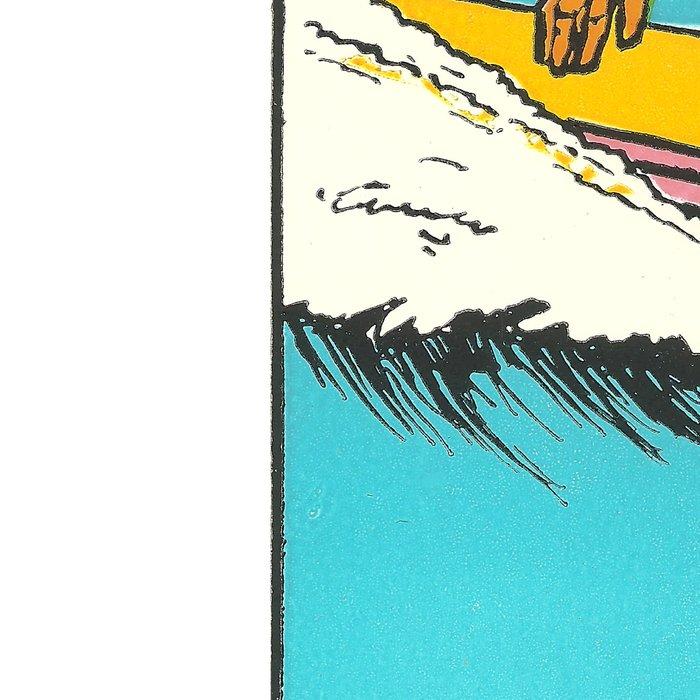 Virginia Beach Retro Vintage Surfer Leggings