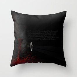 Meat me on the other side Throw Pillow