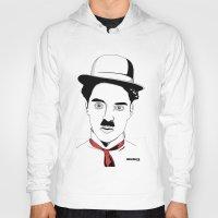 charlie chaplin Hoodies featuring Charlie Chaplin by ArpanDholi