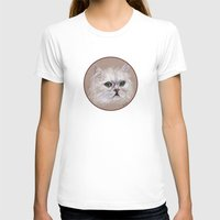 persian T-shirts featuring Persian cat by Pendientera