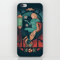 nouveau iPhone & iPod Skins featuring Aran Nouveau by Victor Vercesi