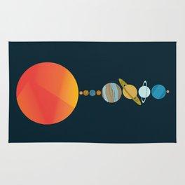 Solar System 2 Rug