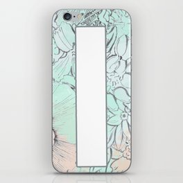 Life is a big canvas iPhone Skin