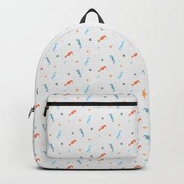 Seahorses and Starfish Backpack