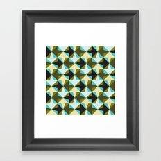 Arrow pattern Framed Art Print