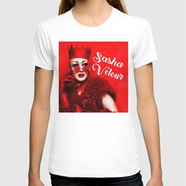 RUPAUL DRAG RACE SASHA VELOUR QUEEN HEY T-shirt