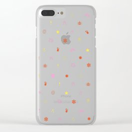 A Few of My Favorite Things Emojis Clear iPhone Case