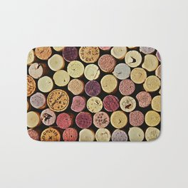 Wine Tops Bath Mat