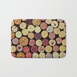 Wine Tops Bath Mat