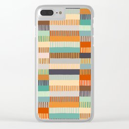 Fall Grandmother's Quilt Clear iPhone Case