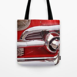 Candy Apple Red Tote Bag