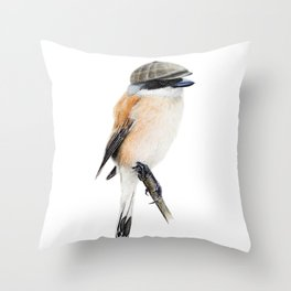 Mr. Shrike Throw Pillow