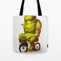 Bike Monster 1 Tote Bag