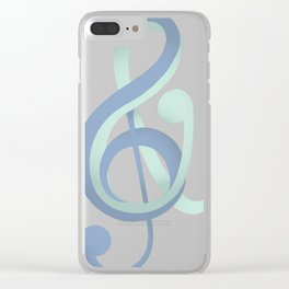 Art Made By Marnie Logo Clear iPhone Case