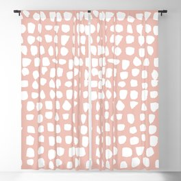 Dots / Pink Blackout Curtain