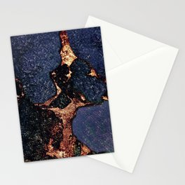 GEMSTONE & GOLD INDIGO Stationery Cards
