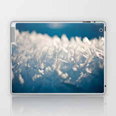 Mountain Snow Macro Laptop & iPad Skin