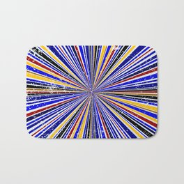 Glare Rays Background Bath Mat