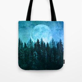 Moon Forest Tote Bag