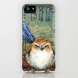 Bad bird iPhone Case